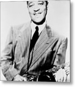 Lester Young 1909-1959, African Metal Print by Everett