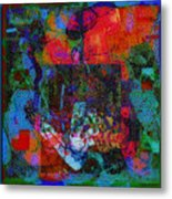 Let Freedom Jazz B Metal Print