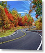 Let It Roll - Pennsylvania Metal Print