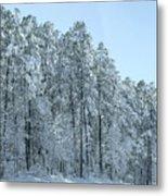 Let It Snow 3 Metal Print
