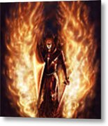 Let The Havens Burn Metal Print