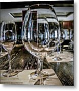 Let The Wine Tasting Begin Metal Print by Julie Palencia