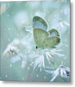 Let The Winter Gone Metal Print