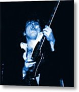 Let There Be Rock And Blues Metal Print
