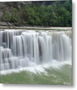 Letchworth Falls Sp Lower Falls Metal Print
