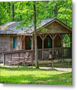 Letchworth State Park Cabin Metal Print