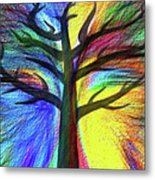 Let's Color This World By Kaye Menner Metal Print