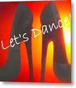 Lets Dance Metal Print