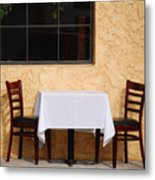 Lets Have Lunch Together Metal Print