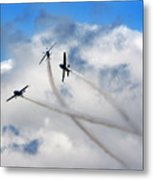 Let's Play In The Clouds Metal Print