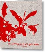 Letting Go  Metal Print