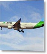 Level Airbus A330-202 Metal Print