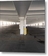 Levels Of A Parking Structure Metal Print