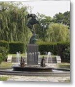 Levi L. Barbour Memorial Fountain Metal Print