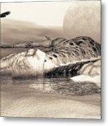 Leviathan's Lament Metal Print