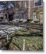 Lew Wallace High School April 2015 016 Metal Print