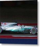 Lewis Hamilton Formula 1 Metal Print