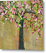 Lexicon Tree Of Life 4 Metal Print