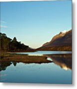 Liathach Sunrise Reflections Metal Print