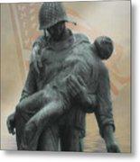 Liberation Monument Metal Print