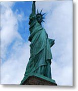 Liberty 2 Metal Print by Lorena Mahoney