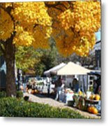 Liberty Farmers Market Metal Print