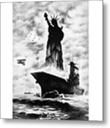 Liberty For All -- Keep 'em Flying  Metal Print