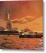 Liberty Island- New York Metal Print