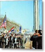 Liberty Memorial Kc Veterans Day 2001 Metal Print