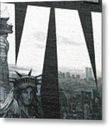 Liberty To All Metal Print