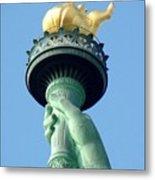 Liberty Torch Metal Print