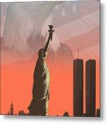 Liberty2 Metal Print