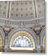 Library Of Congress 1 Metal Print