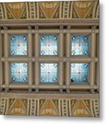 Library Of Congress Ceiling  Metal Print