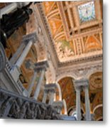 Library Of Congress Vii Metal Print