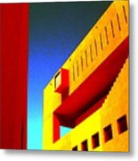 Library On A Clear Day Metal Print
