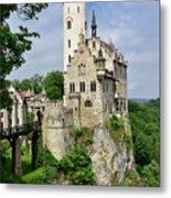 Lichtenstein Castle Metal Print