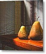 Life As A Pear Metal Print