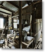 Life As A Shed  Metal Print