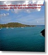Life Changes Metal Print