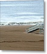 Life Guard Stand - Color Metal Print