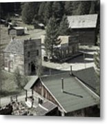 Life in a Ghost Town Metal Print
