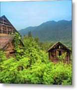 Life In A Mountains Metal Print