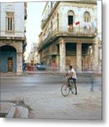 Life In Cuba Metal Print