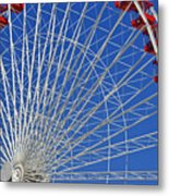Life Is Like A Ferris Wheel Metal Print by Christine Till