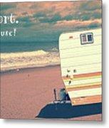 Life Is Short Buy The Beach House Mug Metal Print