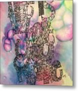 Life Is What You Make It Metal Print