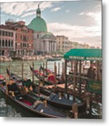 Life Of Venice - Italy Metal Print
