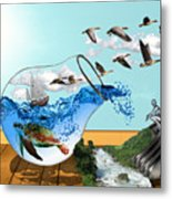 Life On Earth Metal Print