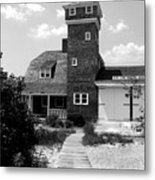 Life Saving Station Metal Print